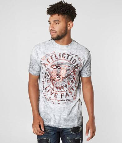 Affliction American Customs Apache Motors T-Shirt