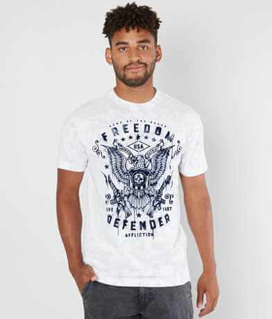 Affliction Freedom Defender Smash T-Shirt