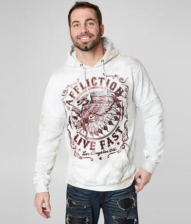 Affliction Apache Motors Hooded Sweatshirt