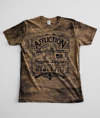 Affliction Freedom Defender Brave American T-Shirt