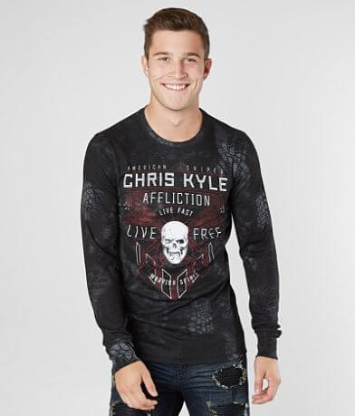 Affliction Coordinates Thermal Shirt