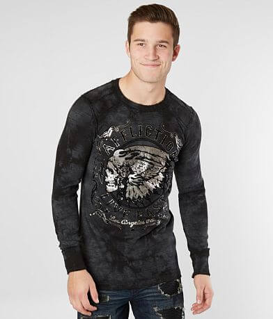 Affliction Apache Motors Thermal Shirt
