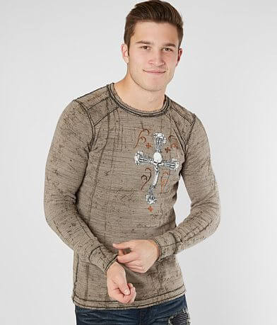 Affliction Live Fast Engine Thermal Shirt