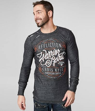 Affliction Calibrated Reversible Thermal Shirt
