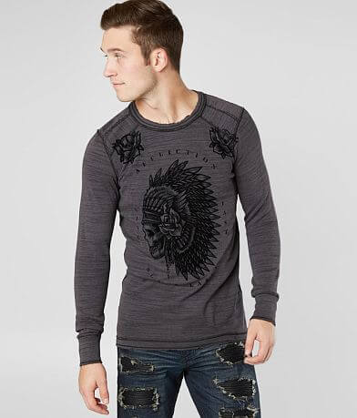 Affliction Night Chief Dusk Thermal Shirt