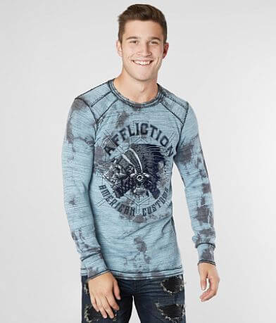 Affliction American Customs Wyoming Thermal Shirt