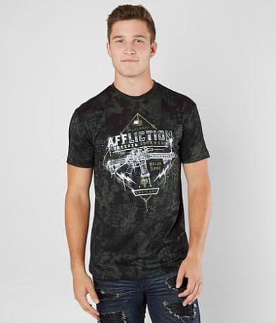 Affliction Freedom Defender Painted T-Shirt