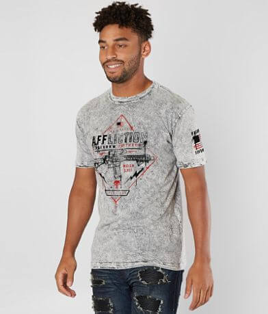 Affliction Painted Freedom Reversible T-Shirt