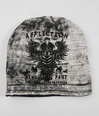 8209fbb235cf7 Affliction Value Freedom Reversible Beanie