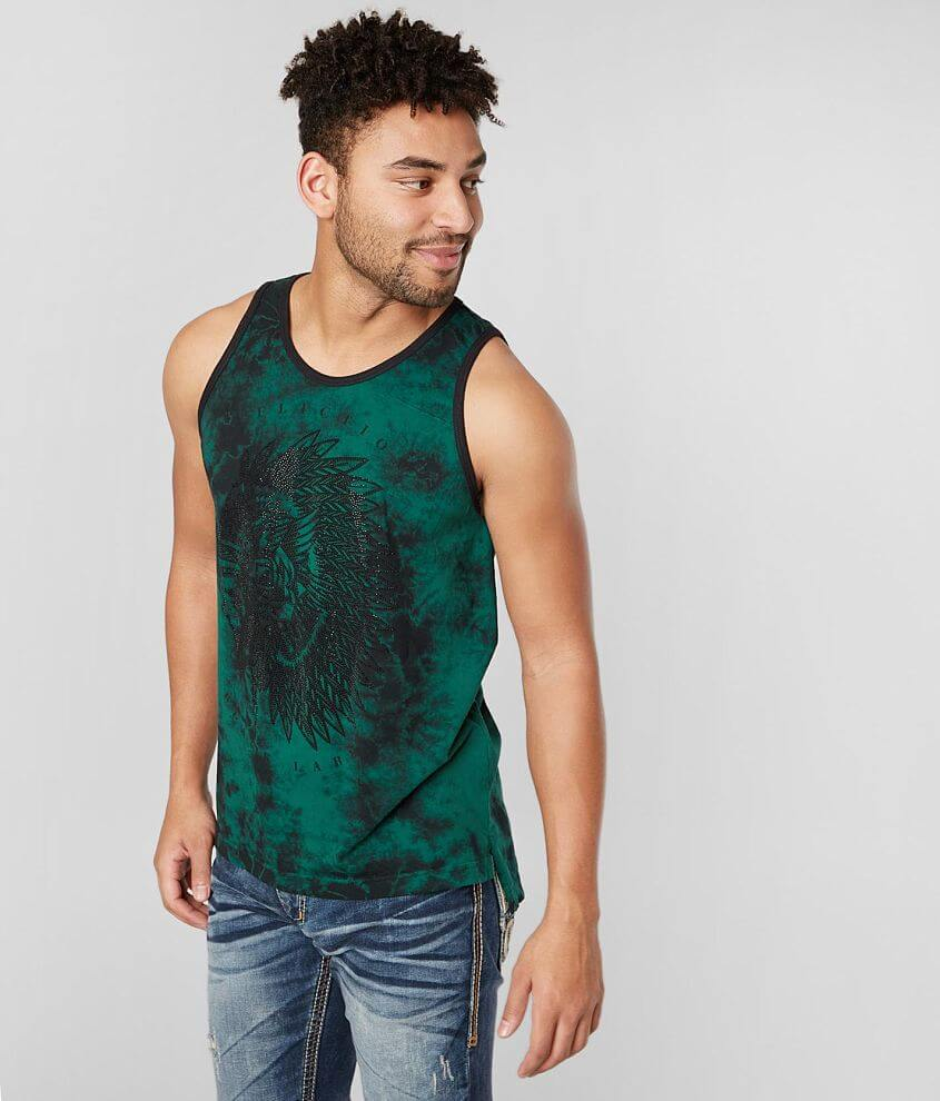 Affliction Night Chief Tank Top front view