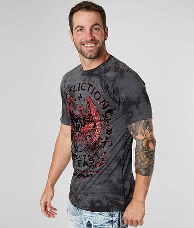 Affliction Virtue Crystal Washed T-Shirt