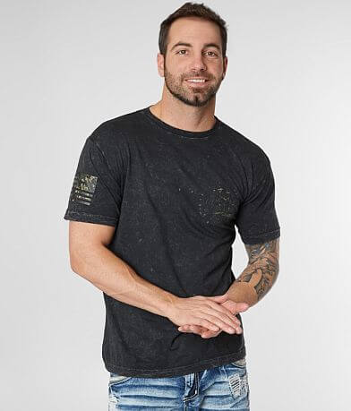 Affliction Brave Liberty Freedom Defender T-Shirt