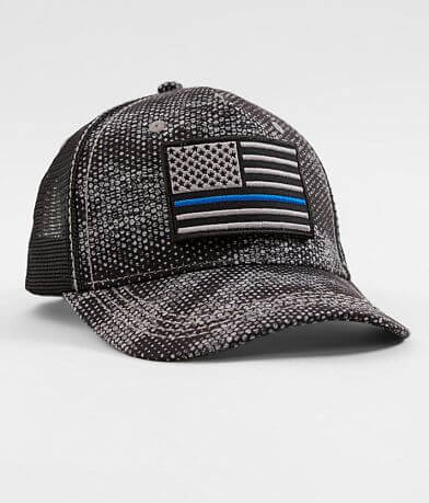 5e64953f763 Affliction A.4.Good Police Trucker Hat