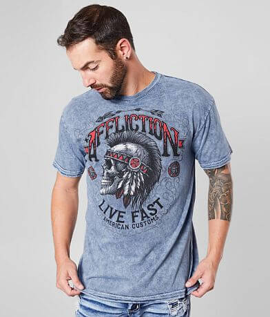 Affliction Iroquois Reversible T-Shirt
