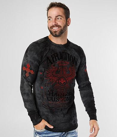 Affliction Tried Custom Motors Reversible Thermal