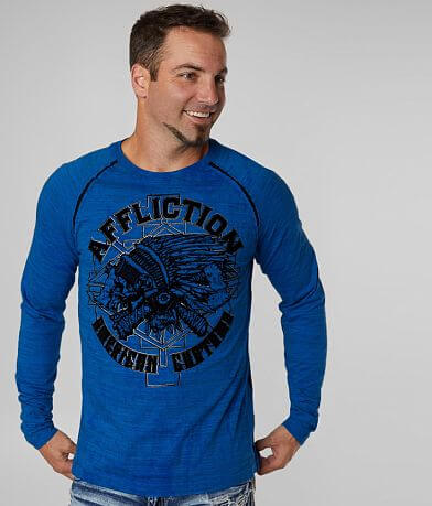 Affliction American Customs Wyoming T-Shirt