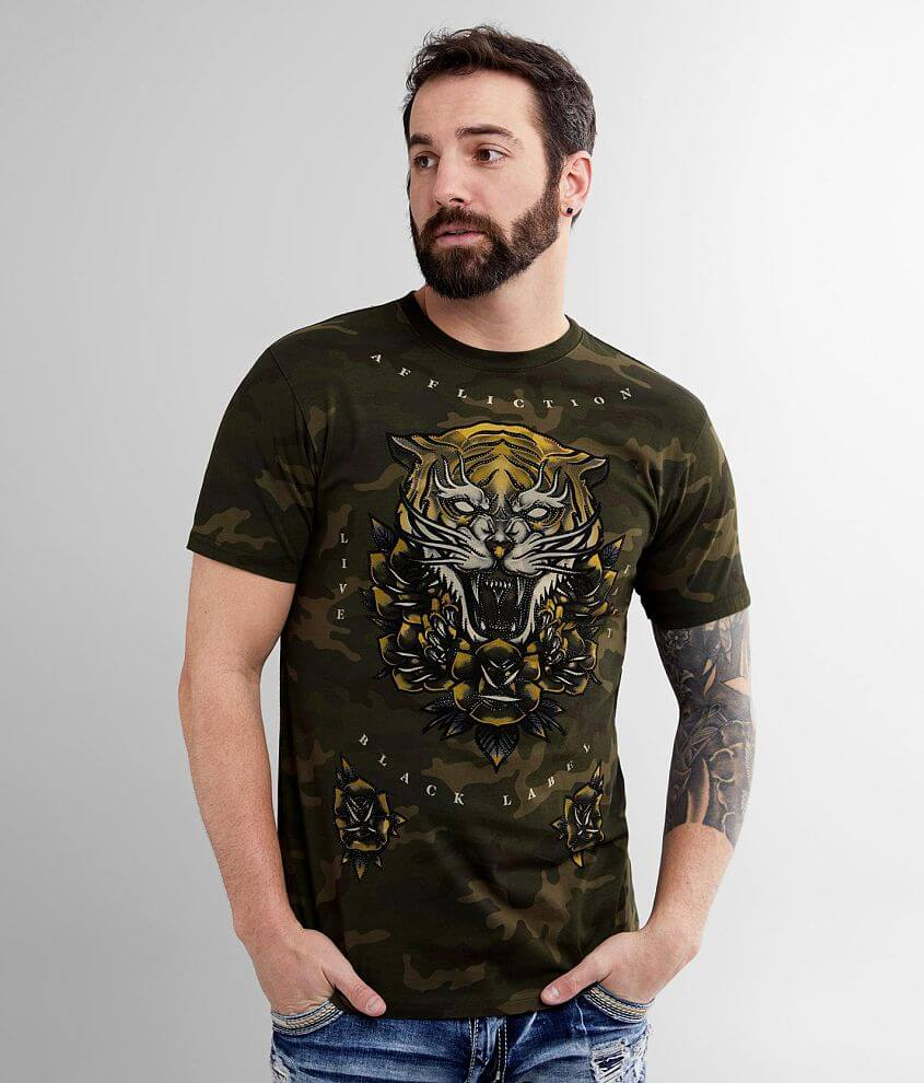 Affliction Screaming Alchemy T-Shirt front view