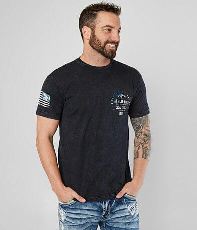 Affliction Freedom Defender Snake T-Shirt