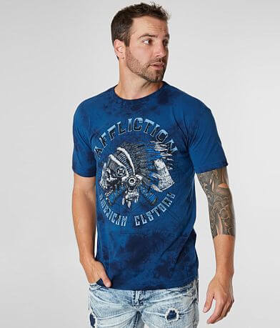 fd9342c26 Affliction American Customs Wyoming T-Shirt