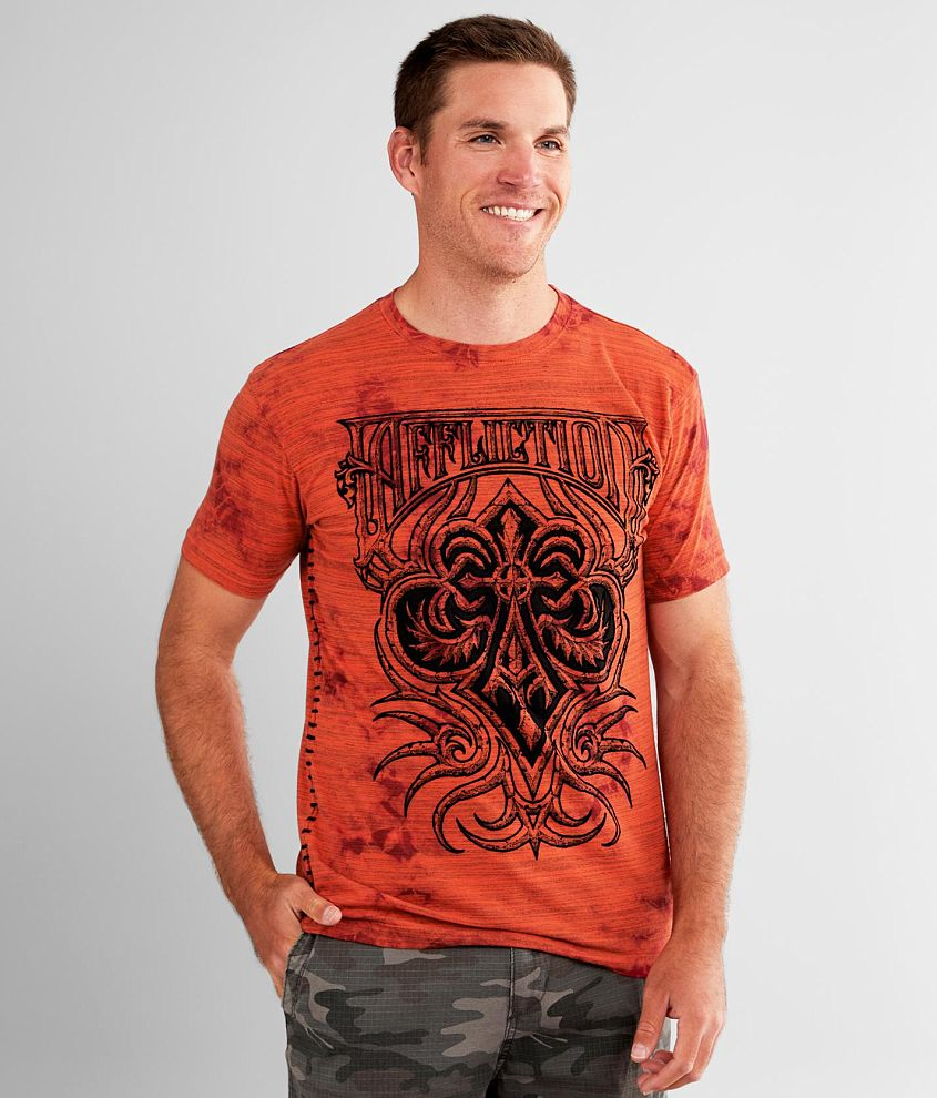 Affliction Cast Fleur T-Shirt front view