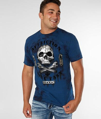 Affliction American Customs Garage Dusk T-Shirt