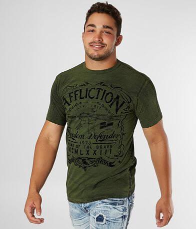 Affliction Freedom Defender Brave American T-Shirt