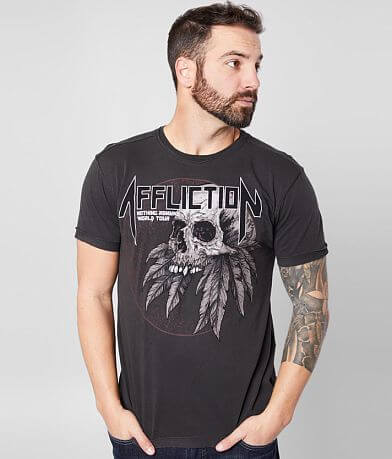 Affliction Nothing Remains Reversible T-Shirt