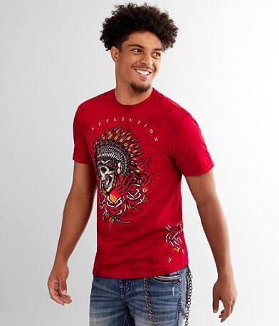 Affliction Sacred Smoke T-Shirt