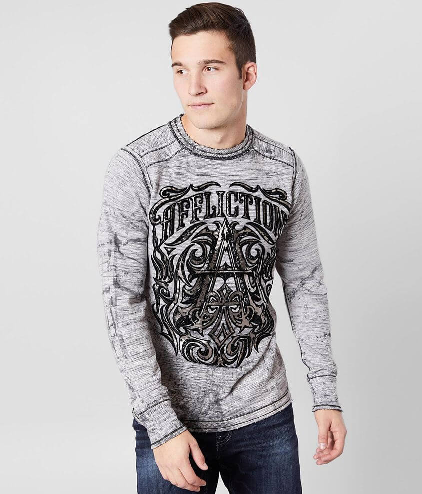 Affliction American Customs Causeway Thermal front view