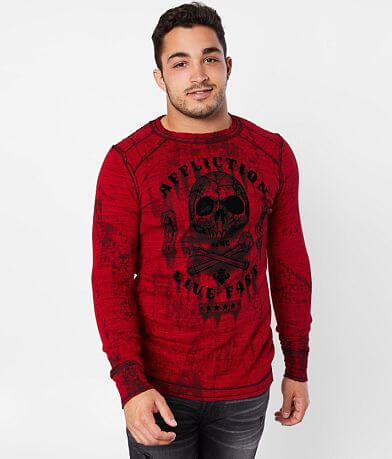 Affliction Garage Dusk Reversible Thermal