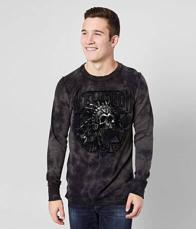 Affliction American Customs Sketch Tribe Thermal