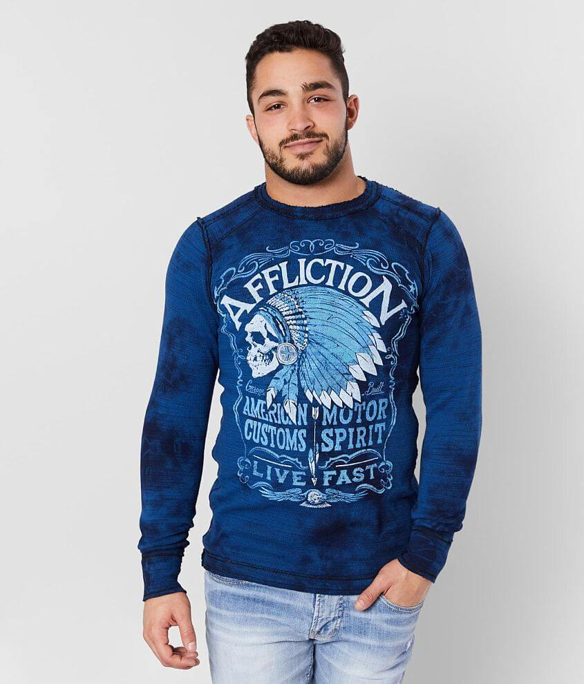 Affliction American Customs Distillery Thermal front view