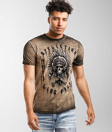 Affliction American Customs Native Grease T-Shirt