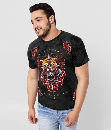 Affliction Mortal Temple T-Shirt