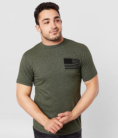 Affliction Freedom Defender Nowhere T-Shirt