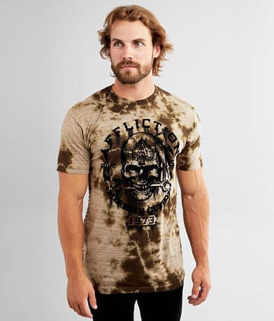 Affliction American Customs Iron Grease T-Shirt