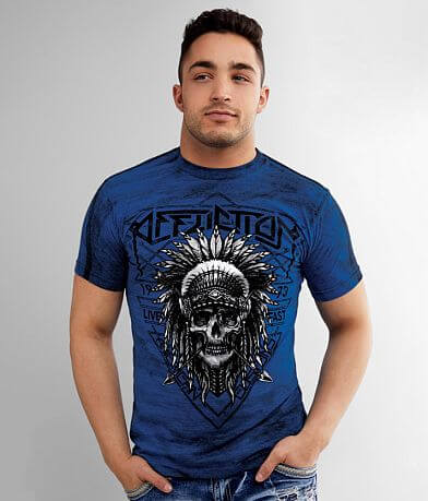 Affliction American Customs Native Trail T-Shirt