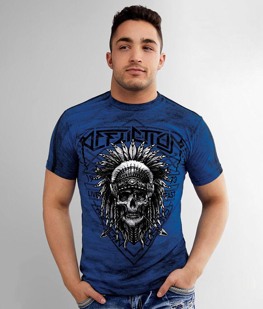 Affliction American Customs Native Trail T-Shirt front view