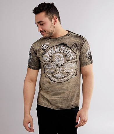Affliction American Customs Grease T-Shirt