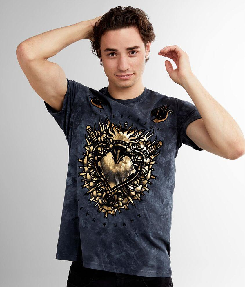 Affliction Ancient Flame T-Shirt front view
