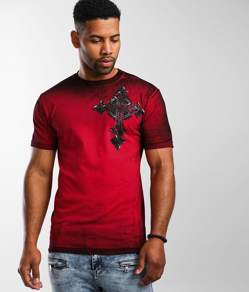 Affliction Stone Grail T-Shirt front view
