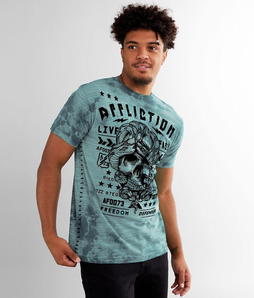 Affliction Freewill T-Shirt front view