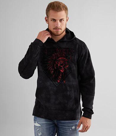 Affliction Stone & Steel Hooded Sweatshirt