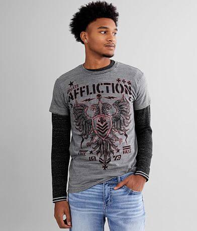 Affliction Core Division Reversible T-Shirt