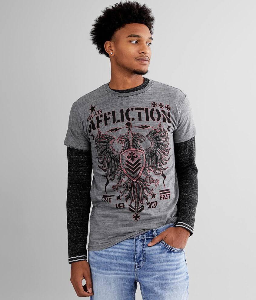 Affliction Core Division Reversible T-Shirt front view