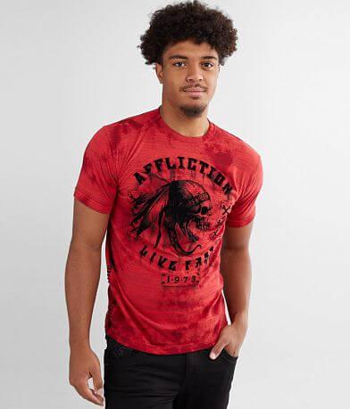 Affliction American Customs Apache Garage T-Shirt