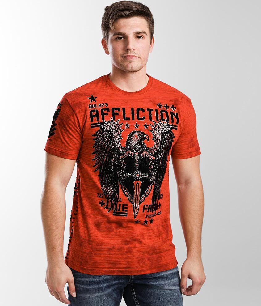Affliction Copper Casing T-Shirt front view