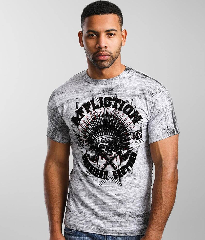 Affliction American Customs Native Roar T-Shirt front view