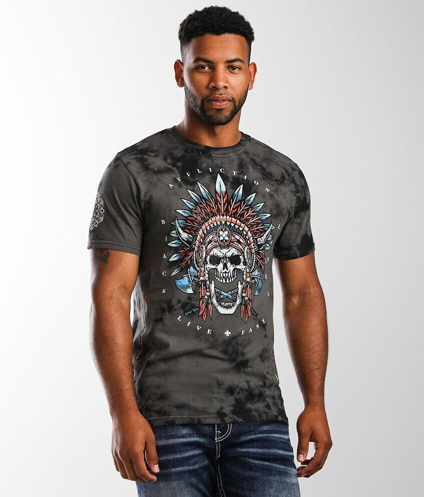 Affliction Nighthawk T-Shirt front view