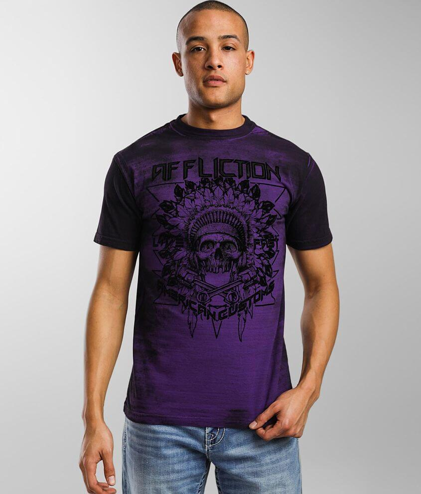 Affliction American Customs Copperhead T-Shirt front view